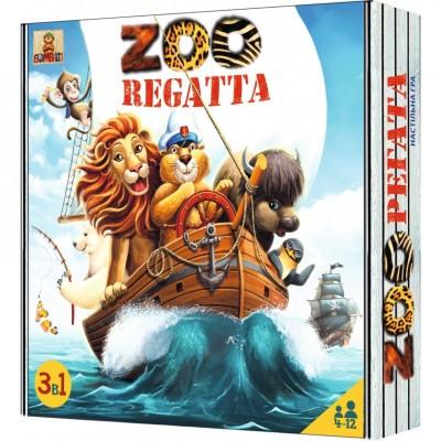 Настольная игра «ЗООрегата» («ZOOregatta»)